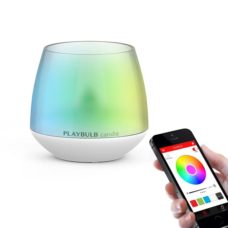 LED APP Control Flameless Candle
