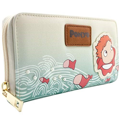 Ladies Long Anime Wallet