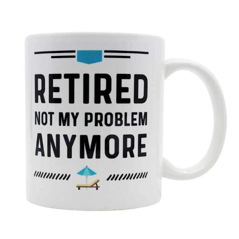 Happy Retirement Mug