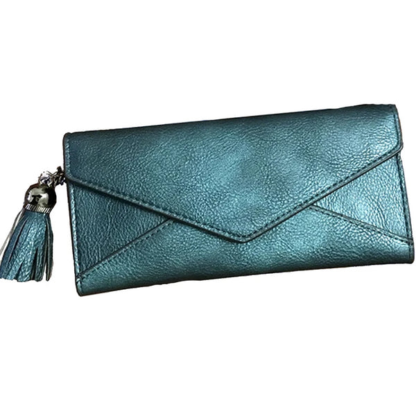 Shimmer Tassel Fashion Clutch Wallet