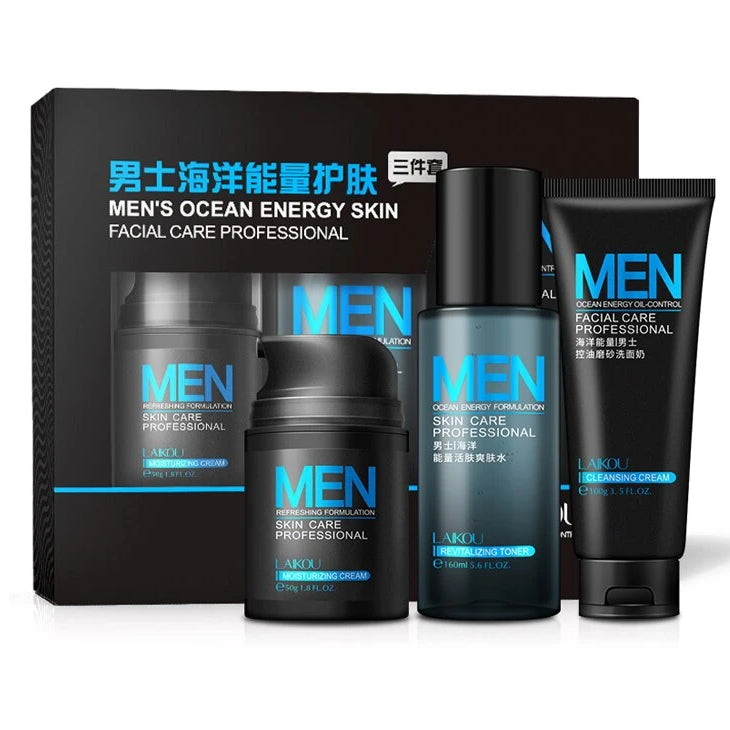 Men's Korean Skin Care System