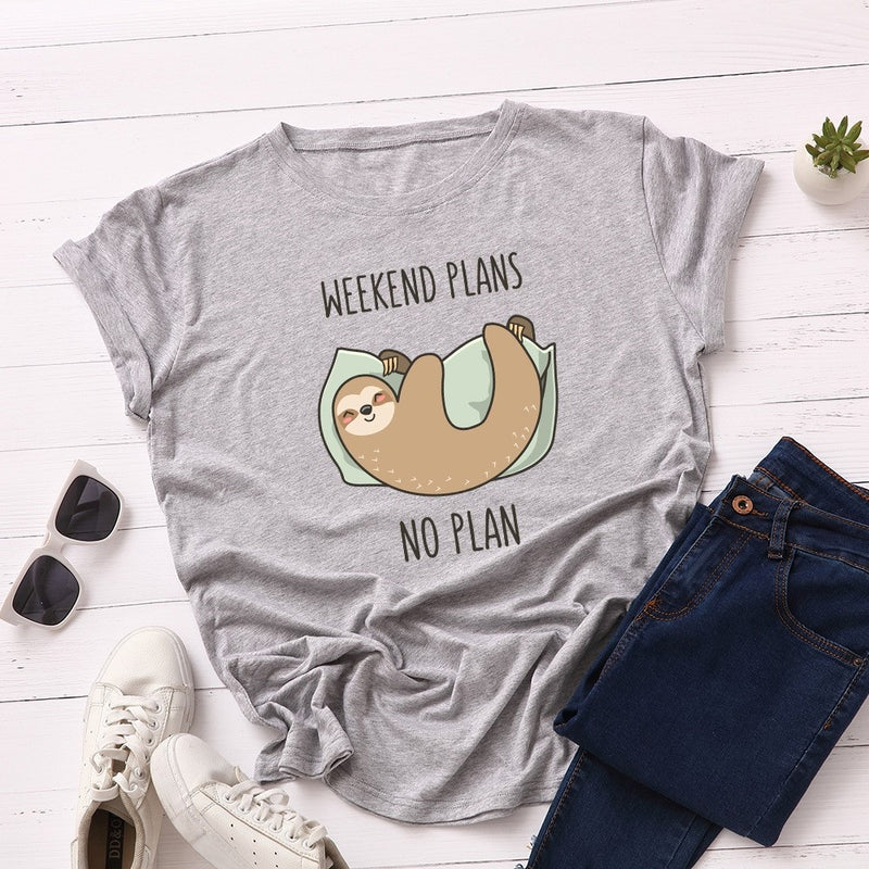 No Weekend Plans Women's Novelty T-Shirt