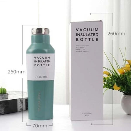 500ml Reusable Square Thermos Flask