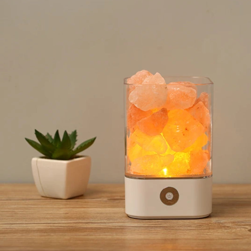 USB LED Himalayan Salt Lamp
