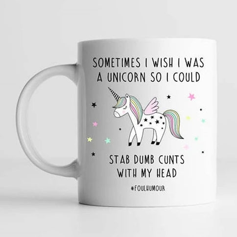 Unicorn Dreams and Wishes Mug