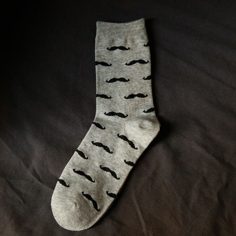 Moustache Socks