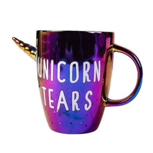 Rainbow Unicorn Tears Mug
