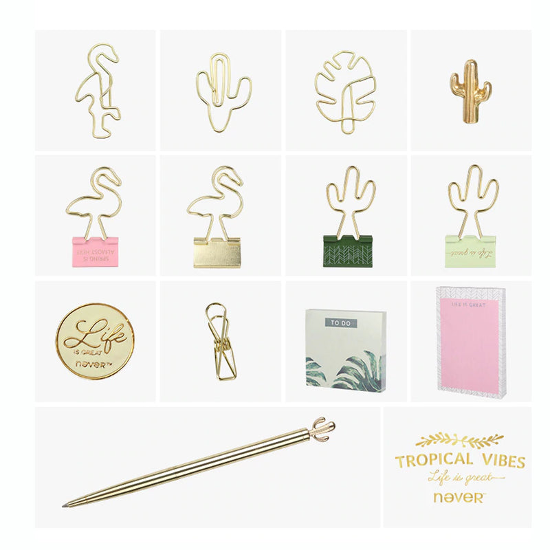 Tropical Vibes Stationery Set