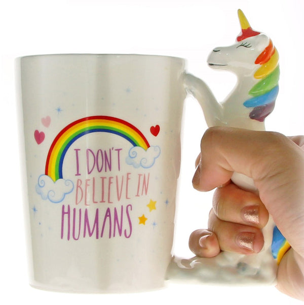 Creative Hand Painted Unicorn Mug