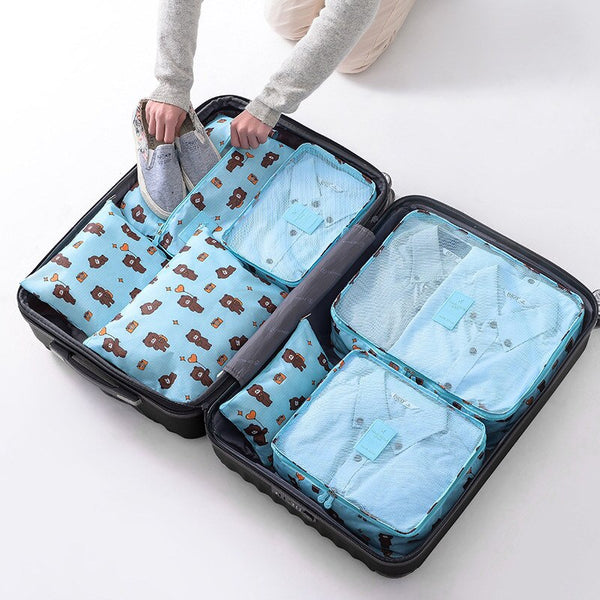 Ultimate Handy Travel Organiser 7 Set