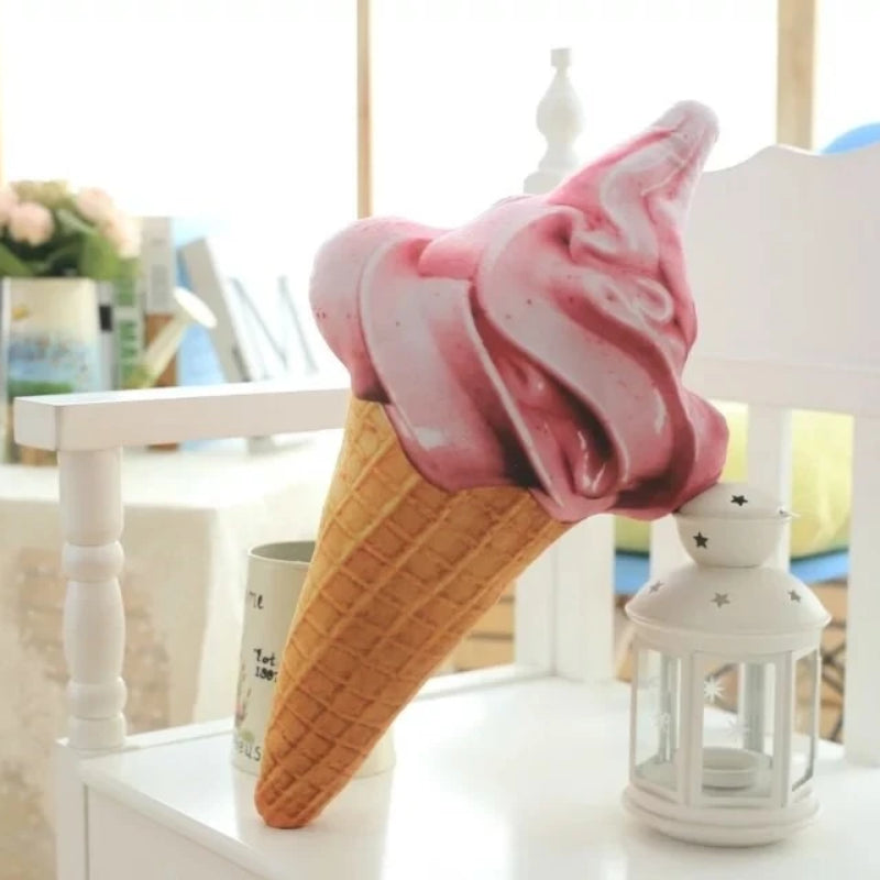 Ice Cream Whip Cushions