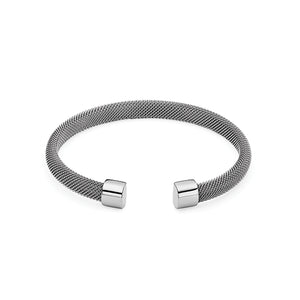 QUDO BRACELET - CASSINO - STAINLESS STEEL
