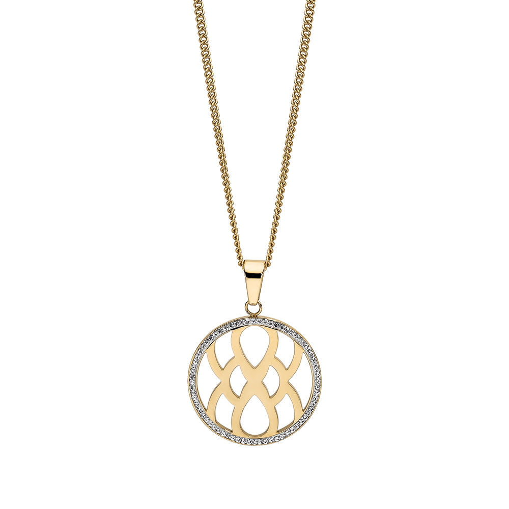 QUDO NECKLACE - CAROLE - GOLD