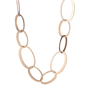 QUDO NECKLACE - VEGLIE - ROSE GOLD
