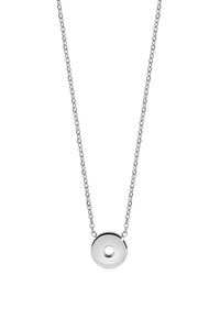QUDO INTERCHANGEABLE SEZZE NECKLACE - STAINLESS STEEL