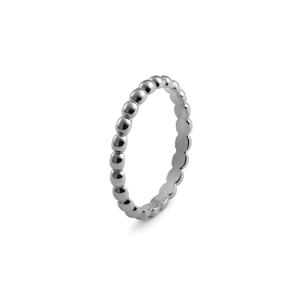 QUDO INTERCHANGEABLE MATINO SPACER RING - STAINLESS STEEL