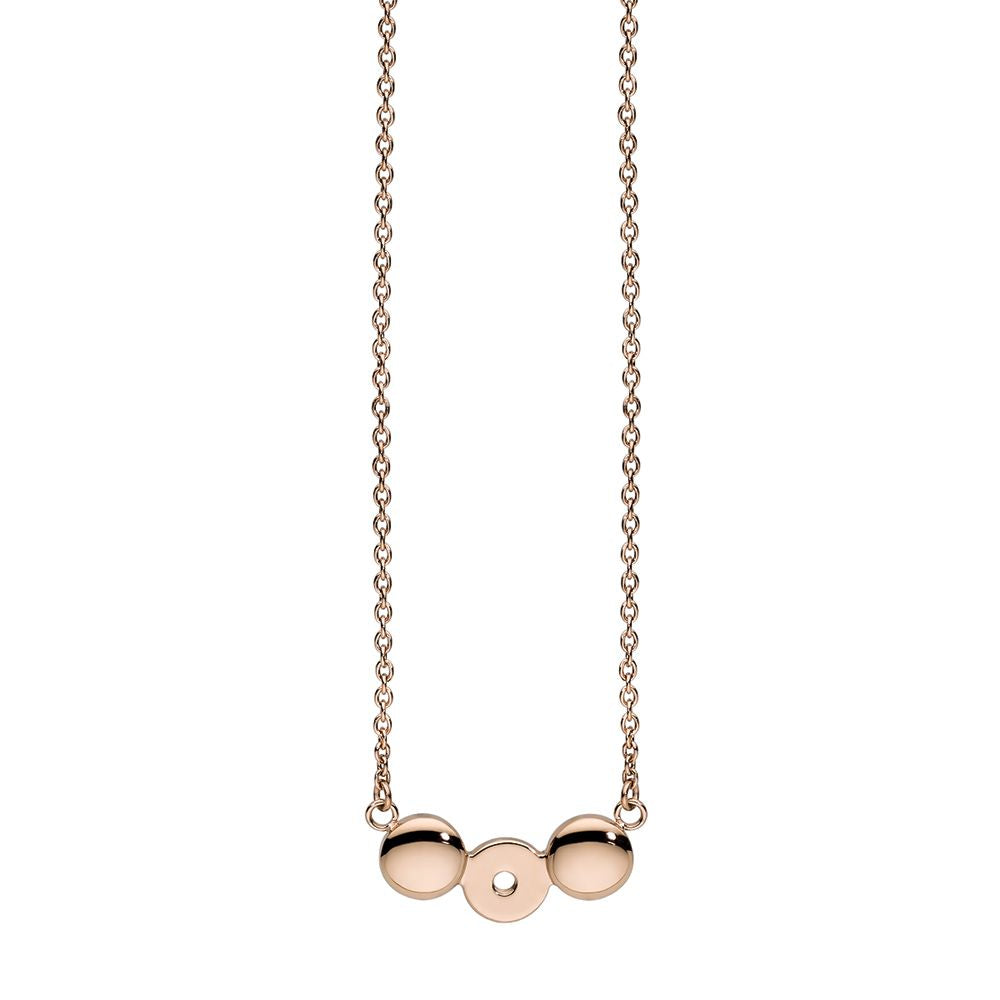 QUDO INTERCHANGEABLE NECKLACE - ROSE GOLD