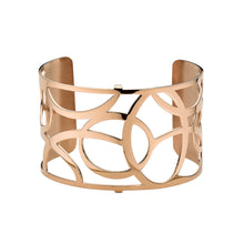 Load image into Gallery viewer, QUDO MY BANGLES - FLUID WIDE - ROSE GOLD