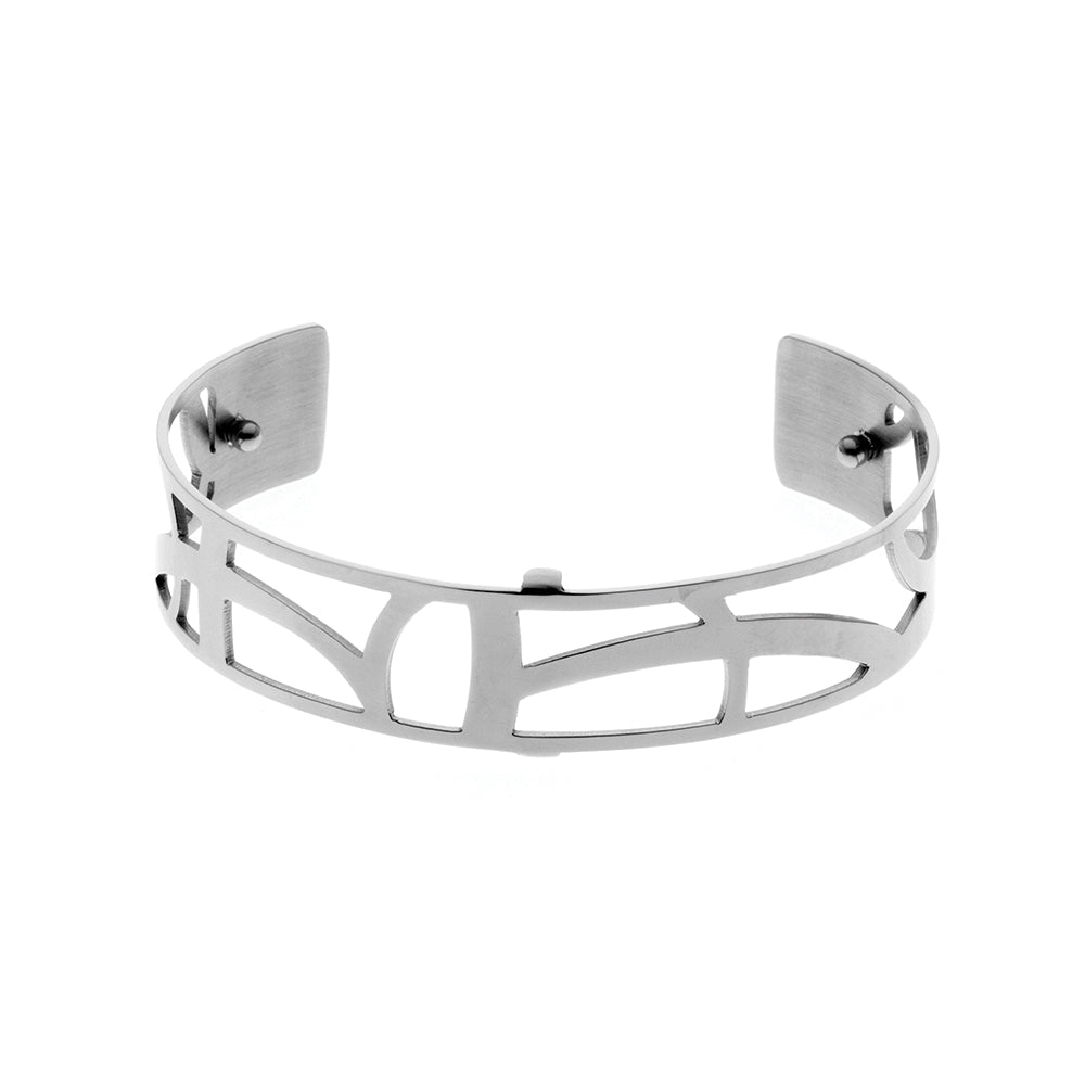 QUDO MY BANGLES - FLUID NARROW - STAINLESS STEEL