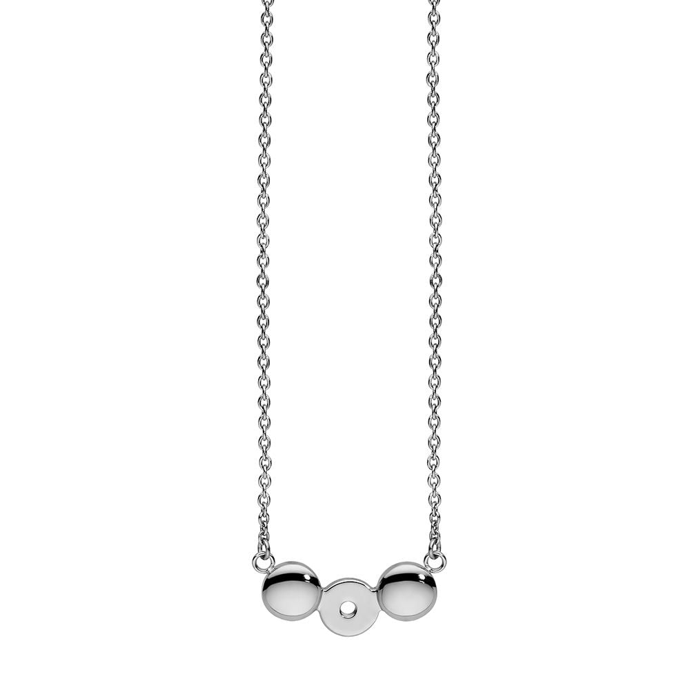 QUDO INTERCHANGEABLE NECKLACE - STAINLESS STEEL
