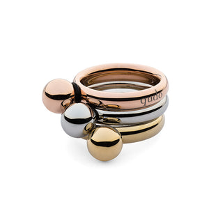 QUDO INTERCHANGEABLE SFERA TOP 8MM - GOLD PLATED