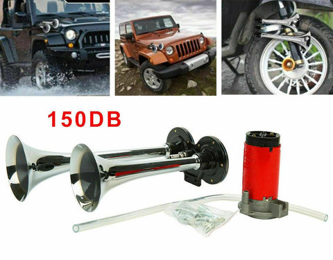 150 DB Train Horn for Truck and Cars | Train Horn with Air Compressor