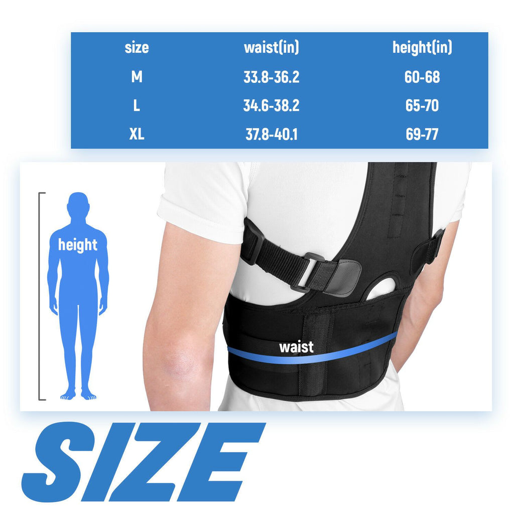 Copper Compression Next Generation Posture Corrector for Men and Women