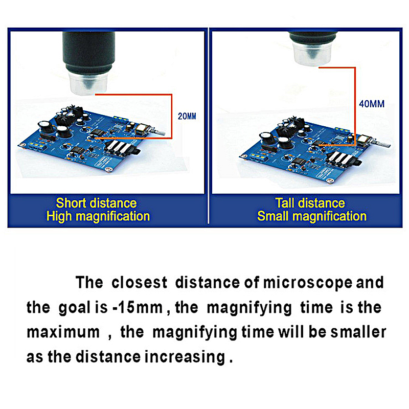 Mustool G1200 Digital Microscope 12MP 7 Inch Large Color Screen LCD Display 1-1200X Continuous Amplification Magnifier