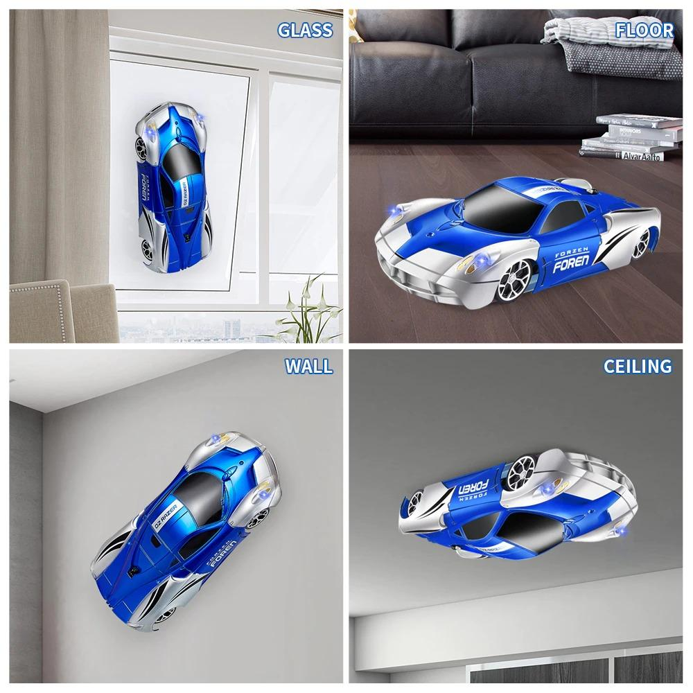 Remote Control Gravity Defying Wall Climbing RC Car