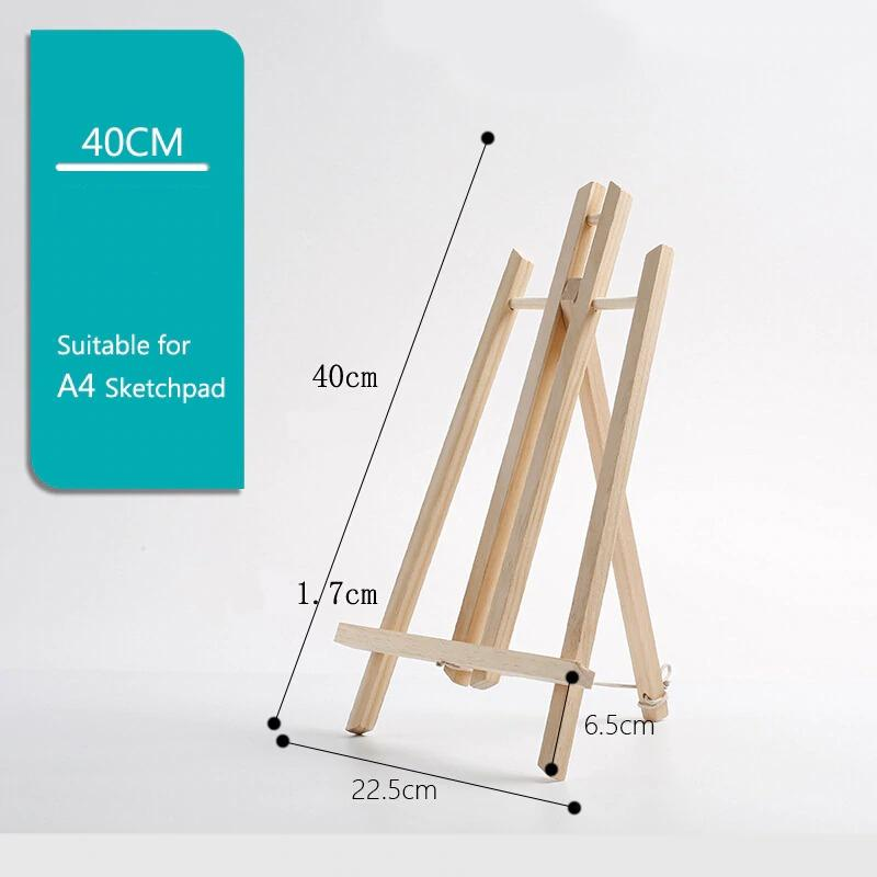 A4 Wood Table Top Painting Easel
