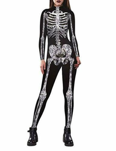 Skeleton Bodysuit - Skeleton Costume Woman