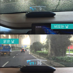 Car Speed Projector - Windshield Speedometer
