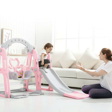 Slide Swing Set - Toddler Swing and Slide Set