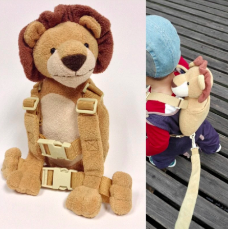 Monkey Backpack Leash - Leash for Kids