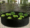 Image of Round Planting Container Grow Bag Raised Garden Bed