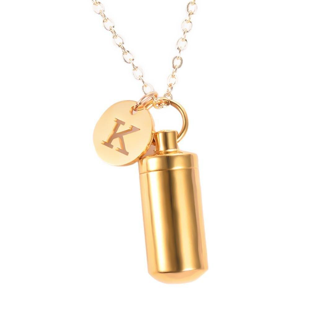 Hourglass Urn Necklace ‑ Necklace For Ashes ‑ Cremation Jewelry
