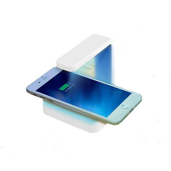 UV Phone Sanitizer & Qi Charger - 2 in 1 Phone Disinfectant and Wireless Charger