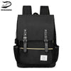 Image of Vintage Laptop Backpack College School Bag with USB Port