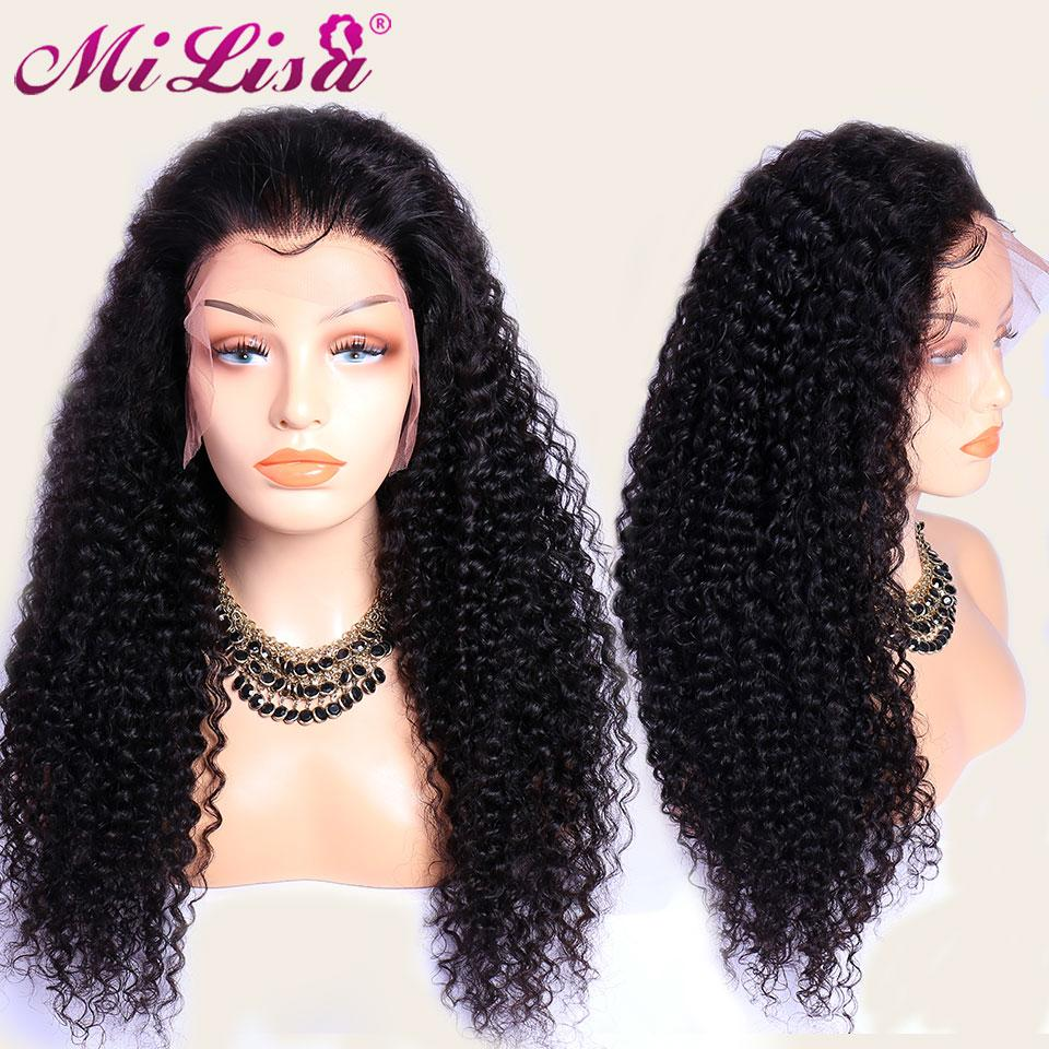 Curly Human Hair Wigs - Short Curly Wigs for Black Hair