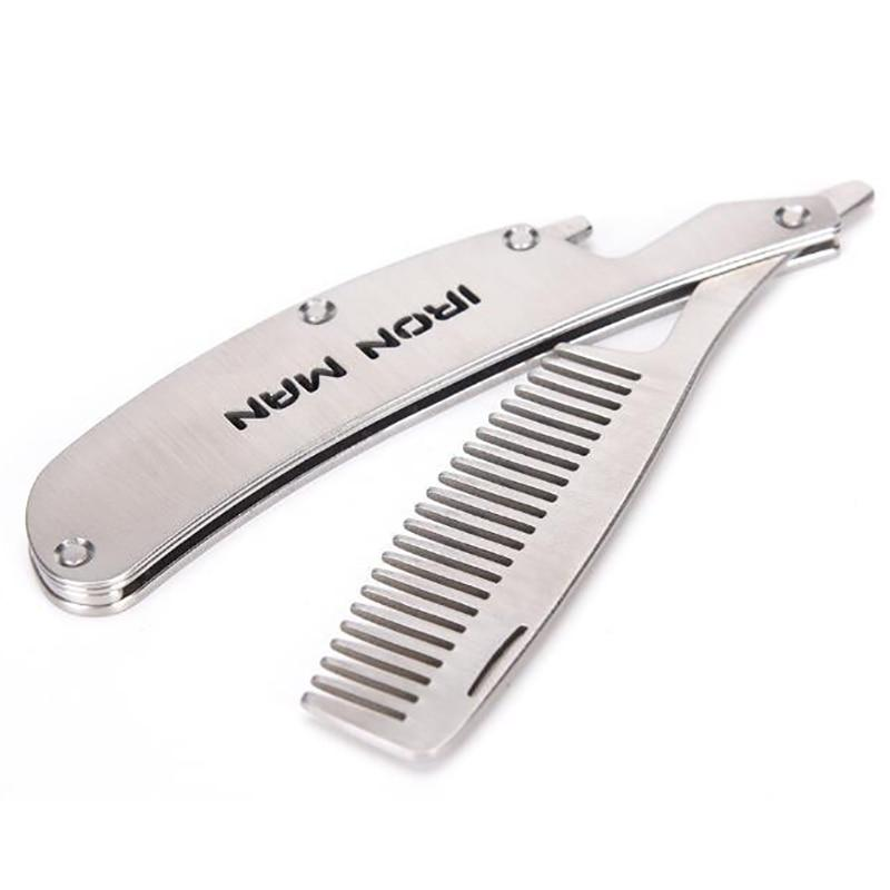 Folding Comb - Stainless Steel Comb