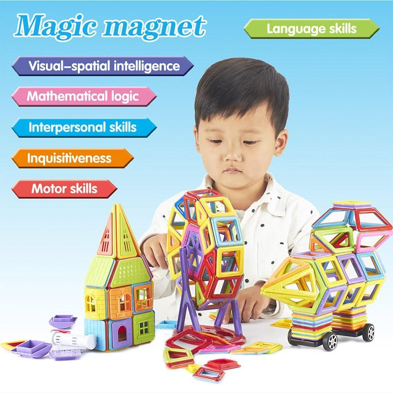 Magnetic Building Blocks 114 Pcs
