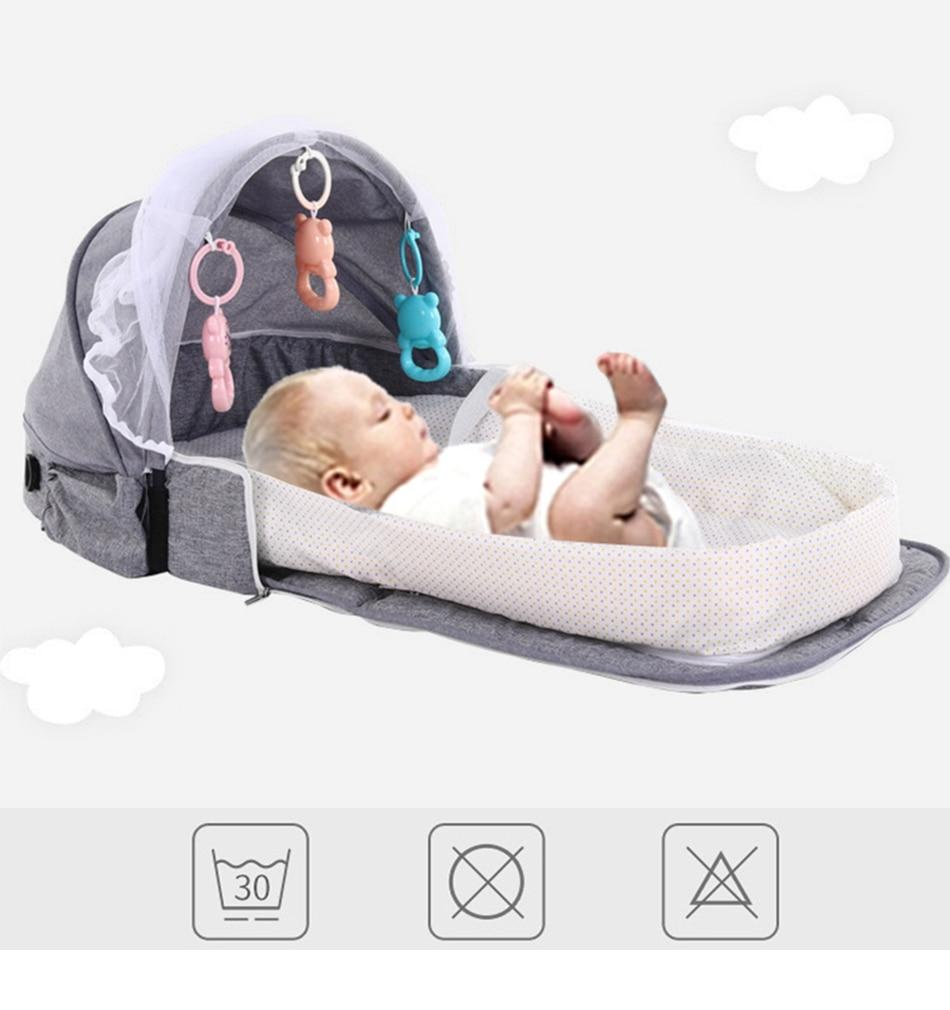 Portable toddler bed - Kids Portable Bed - Portable Baby Bed