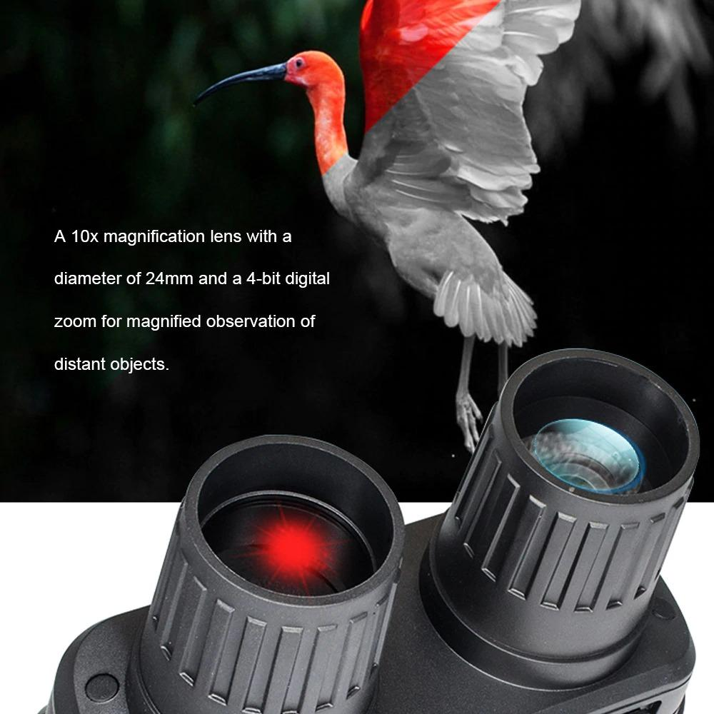 Long Distance Digital Night Vision Binoculars With Video Recording HD Infrared Day And Night Vision