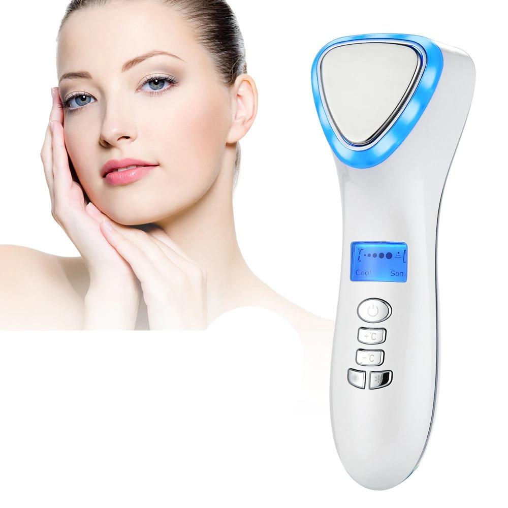 Ultrasonic Cryotherapy at Home Skin Care Massager Hammer