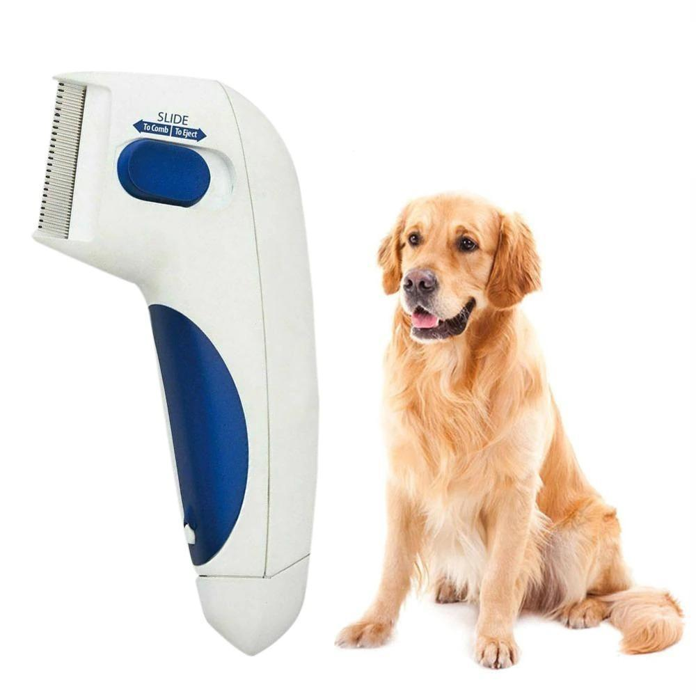 Lice Vacuum Comb for pets Anti Flea dog comb
