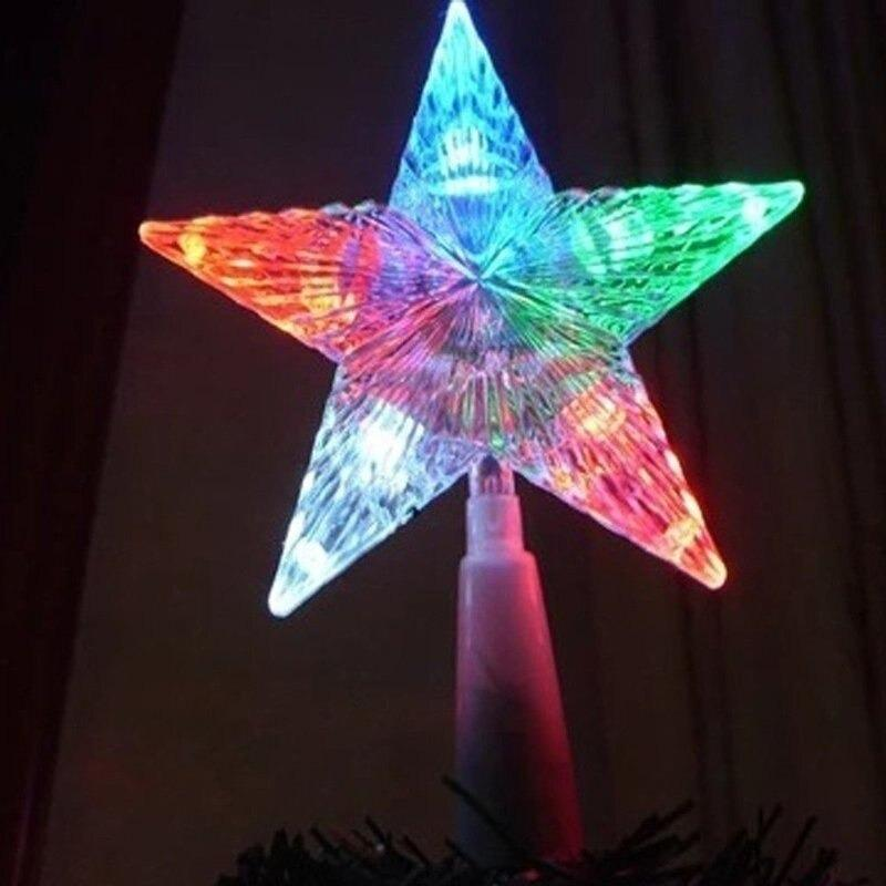 Color Changing Rotating Lighted Tree Toppers