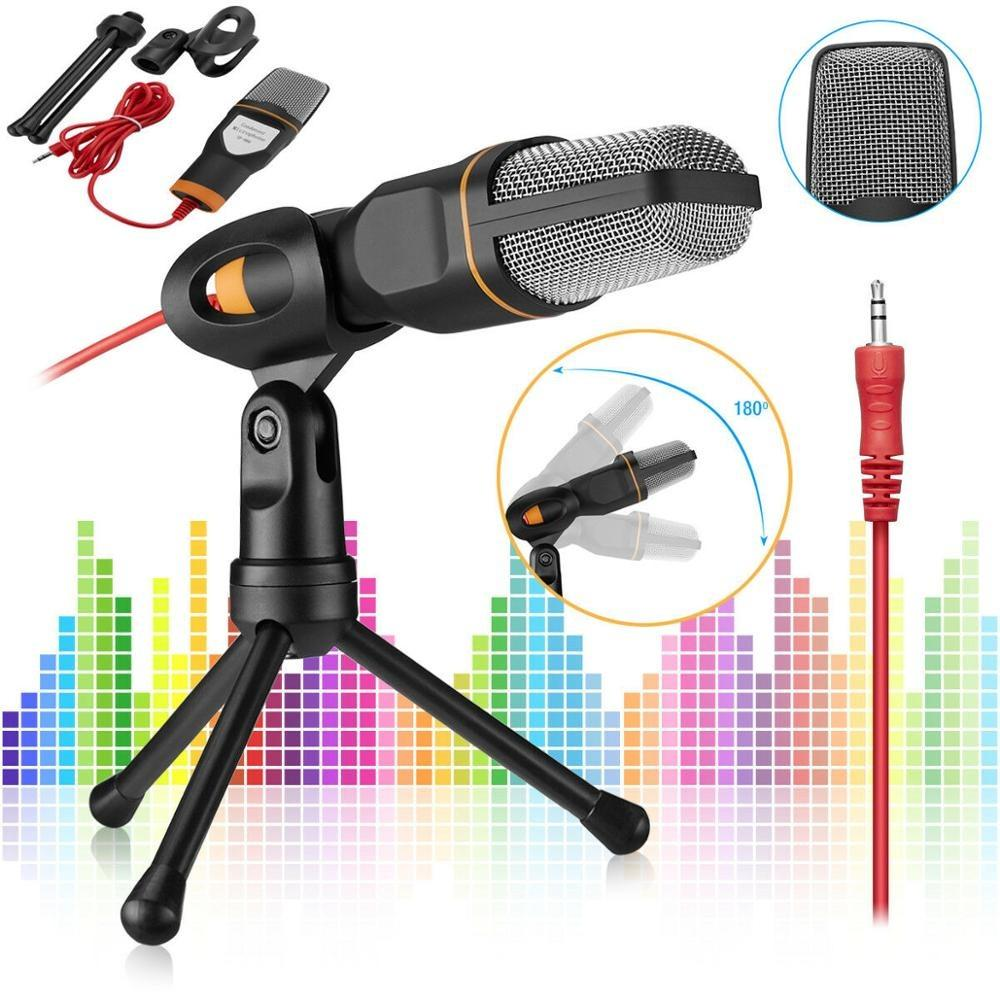 Metal USB Condenser Recording Microphone