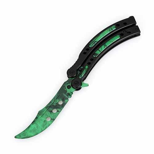 Folding Butterfly Knife l Training Knife Not Sharpen