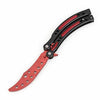 Image of Folding Butterfly Knife l Training Knife Not Sharpen