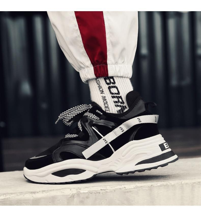Vintage Dad Sneakers Light Breathable Men Casual Shoes Casual Tenis